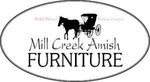 mill creek amish furniture logo